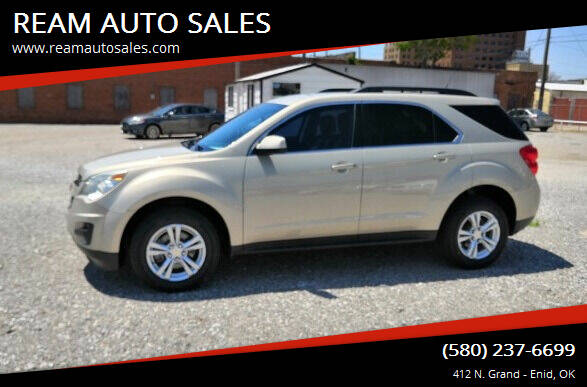 2011 Chevrolet Equinox for sale at REAM AUTO SALES in Enid OK