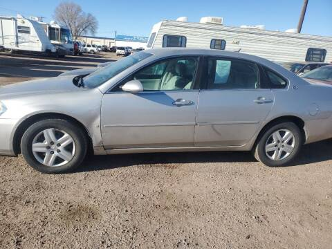 2007 Chevrolet Impala for sale at PYRAMID MOTORS - Fountain Lot in Fountain CO