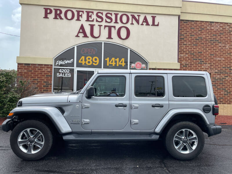 2020 Jeep Wrangler Unlimited for sale at Professional Auto Sales & Service in Fort Wayne IN