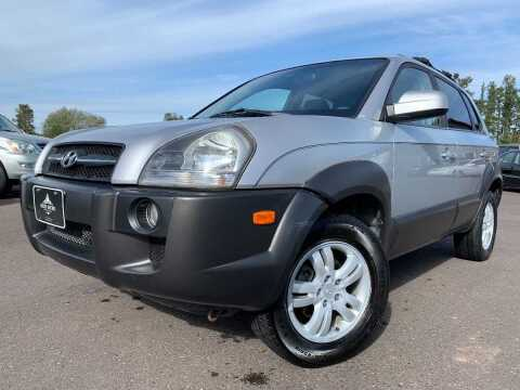 2006 Hyundai Tucson for sale at LUXURY IMPORTS in Hermantown MN