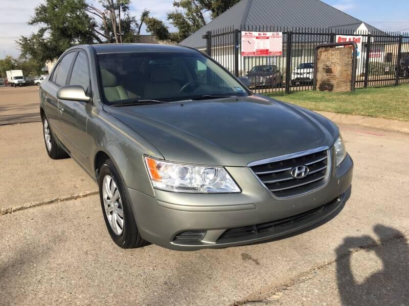 2010 Hyundai Sonata for sale at TETCO AUTO SALES  / TETCO FUNDING in Dallas TX