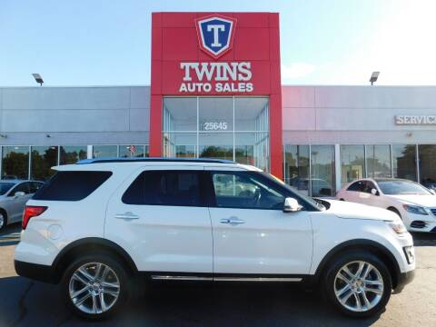 2017 Ford Explorer for sale at Twins Auto Sales Inc Redford 1 in Redford MI