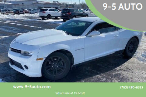 2015 Chevrolet Camaro for sale at 9-5 AUTO in Topeka KS