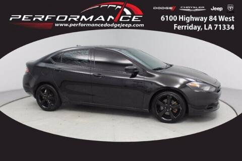 2016 Dodge Dart for sale at Performance Dodge Chrysler Jeep in Ferriday LA