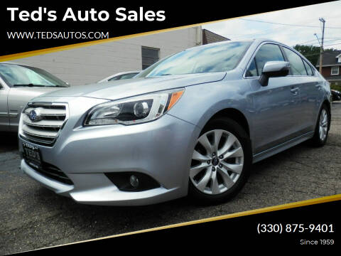 2015 Subaru Legacy for sale at Ted's Auto Sales in Louisville OH