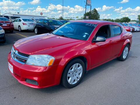 2014 Dodge Avenger for sale at De Anda Auto Sales in South Sioux City NE