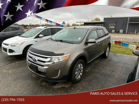 2014 Ford Edge for sale at Paris Auto Sales & Service in Big Rapids MI