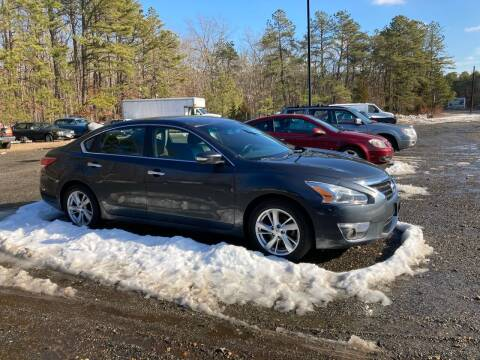 2013 Nissan Altima for sale at MIKE B CARS LTD in Hammonton NJ