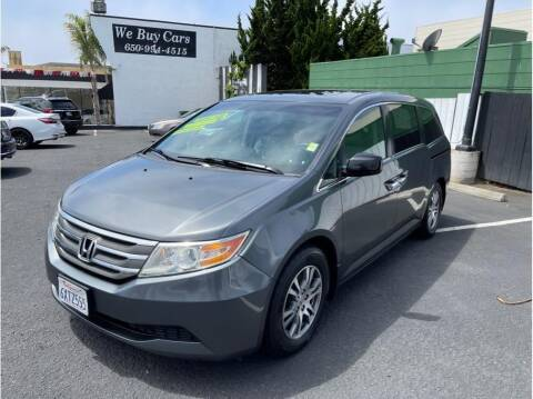 2012 Honda Odyssey for sale at AutoDeals in Daly City CA
