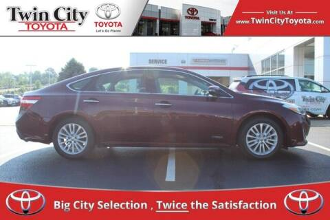 2014 Toyota Avalon Hybrid for sale at Twin City Toyota in Herculaneum MO