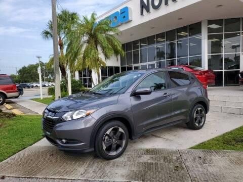 2018 Honda HR-V for sale at Mazda of North Miami in Miami FL
