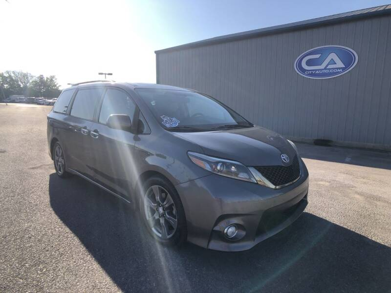 2017 Toyota Sienna for sale at City Auto in Murfreesboro TN