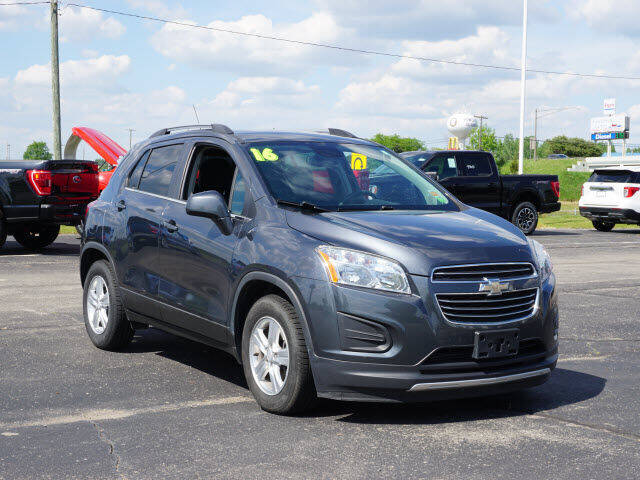 2016 Chevrolet Trax for sale at FOWLERVILLE FORD in Fowlerville MI