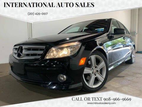 2010 Mercedes-Benz C-Class for sale at International Auto Sales in Hasbrouck Heights NJ