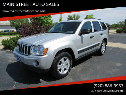 2006 Jeep Grand Cherokee for sale at MAIN STREET AUTO SALES in Neenah WI
