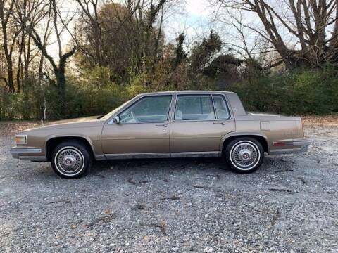 1986 Cadillac DeVille for sale at Mater's Motors in Stanley NC
