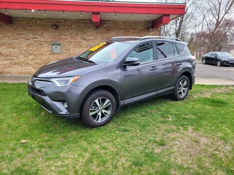 2018 Toyota RAV4 for sale at Murdock Used Cars in Niles MI