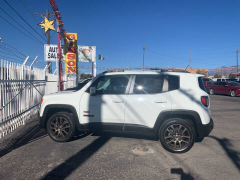 2016 Jeep Renegade for sale at Robert B Gibson Auto Sales INC in Albuquerque NM