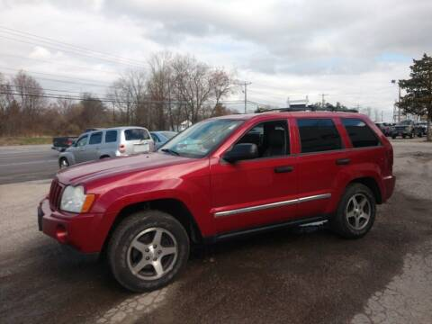 2005 Jeep Grand Cherokee for sale at E & K Automotive in Derry NH