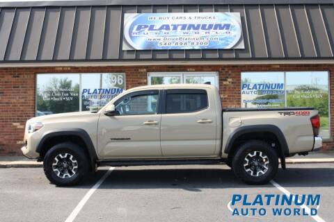 2019 Toyota Tacoma for sale at Platinum Auto World in Fredericksburg VA
