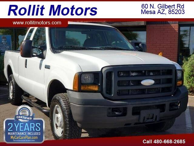 2007 Ford F-250 Super Duty for sale at Rollit Motors in Mesa AZ