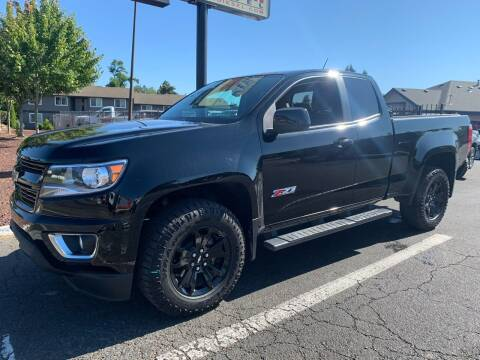 2018 Chevrolet Colorado for sale at South Commercial Auto Sales in Salem OR