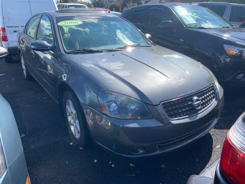 2006 Nissan Altima for sale at Park Avenue Auto Lot Inc in Linden NJ