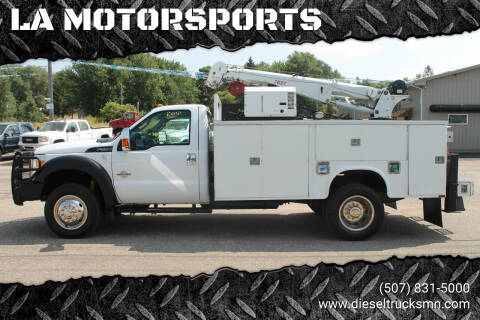 2012 Ford F-550 Super Duty for sale at LA MOTORSPORTS in Windom MN