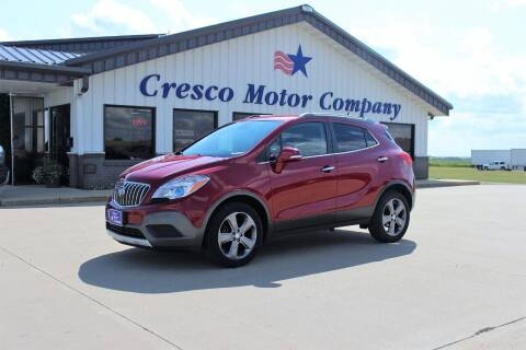 2014 Buick Encore for sale at Cresco Motor Company in Cresco IA