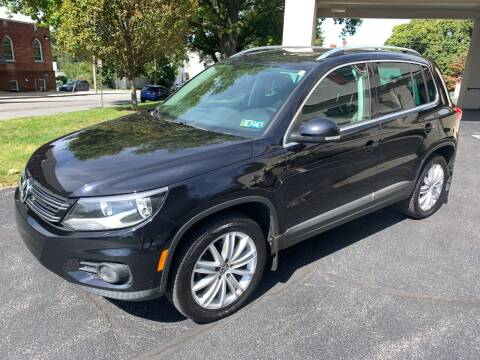 2013 Volkswagen Tiguan for sale at On The Circuit Cars & Trucks in York PA