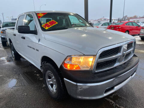 2012 RAM Ram Pickup 1500 for sale at Top Line Auto Sales in Idaho Falls ID