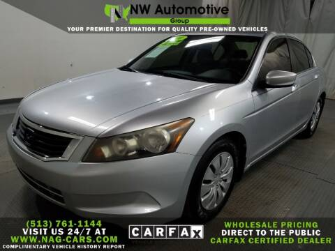 2010 Honda Accord for sale at NW Automotive Group in Cincinnati OH