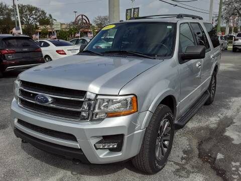 2017 Ford Expedition for sale at YOUR BEST DRIVE in Oakland Park FL