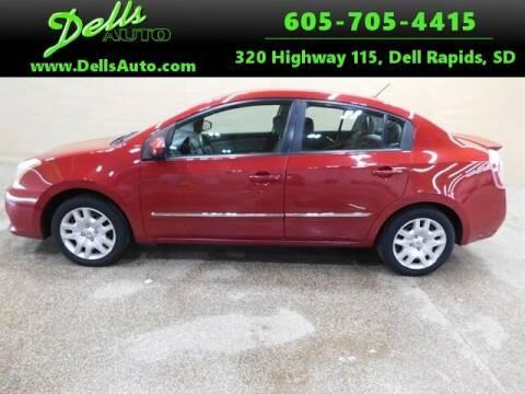 2012 Nissan Sentra for sale at Dells Auto in Dell Rapids SD
