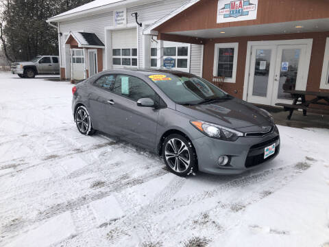 2016 Kia Forte Koup for sale at M&A Auto in Newport VT