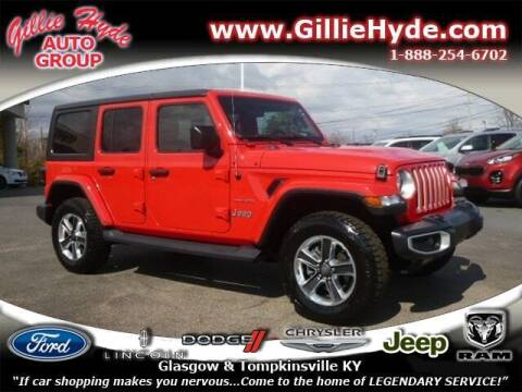 2019 Jeep Wrangler Unlimited for sale at Gillie Hyde Auto Group in Glasgow KY