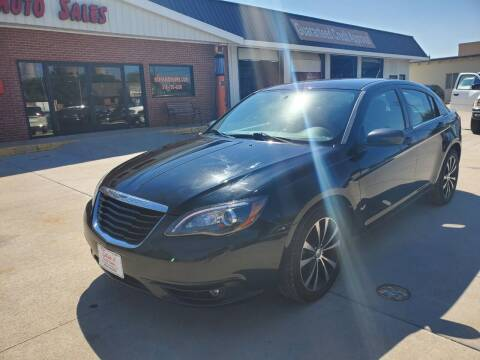 2013 Chrysler 200 for sale at Eden's Auto Sales in Valley Center KS