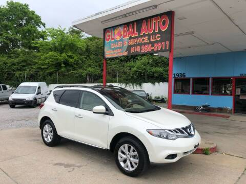 2012 Nissan Murano for sale at Global Auto Sales and Service in Nashville TN