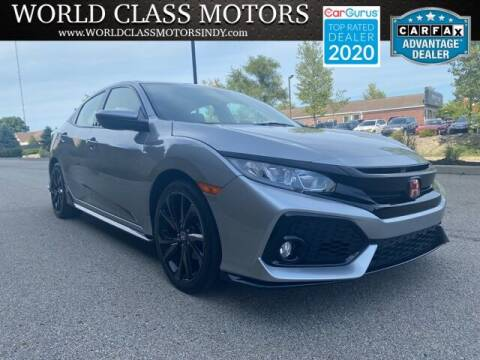 2017 Honda Civic for sale at World Class Motors LLC in Noblesville IN