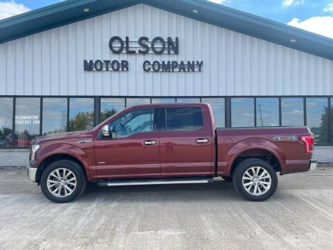 2015 Ford F-150 for sale at Olson Motor Company in Morris MN