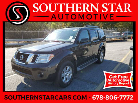2010 Nissan Pathfinder for sale at Southern Star Automotive, Inc. in Duluth GA