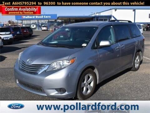 2017 Toyota Sienna for sale at South Plains Autoplex by RANDY BUCHANAN in Lubbock TX