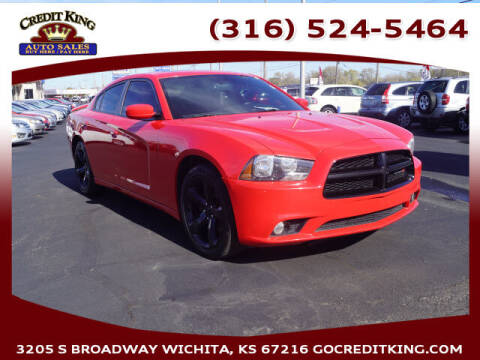 2014 Dodge Charger for sale at Credit King Auto Sales in Wichita KS