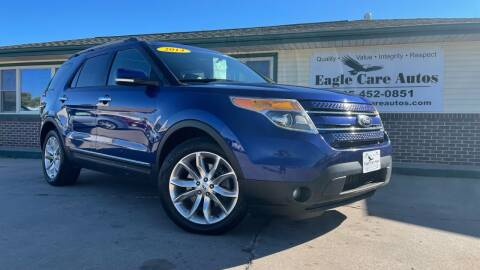 2014 Ford Explorer for sale at Eagle Care Autos in Mcpherson KS