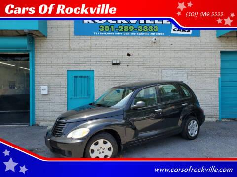 2008 Chrysler PT Cruiser for sale at Cars Of Rockville in Rockville MD