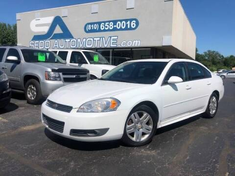 2011 Chevrolet Impala for sale at Sedo Automotive in Davison MI