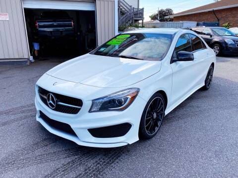2016 Mercedes-Benz CLA for sale at Dijie Auto Sale and Service Co. in Johnston RI