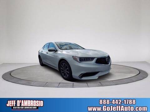 2018 Acura TLX for sale at Jeff D'Ambrosio Auto Group in Downingtown PA