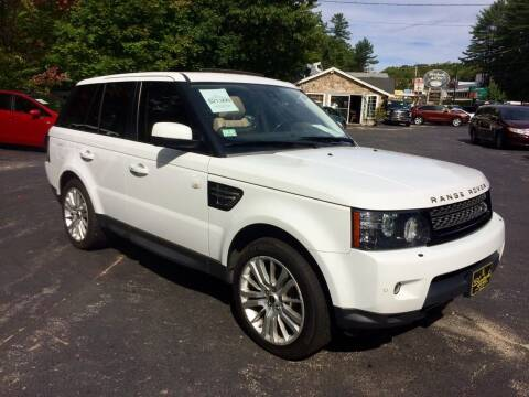 2012 Land Rover Range Rover Sport for sale at Bladecki Auto in Belmont NH