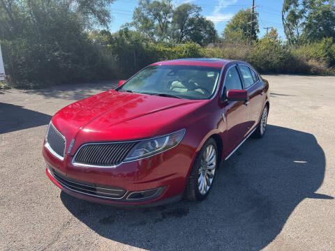 2013 Lincoln MKS for sale at Mr. Auto in Hamilton OH